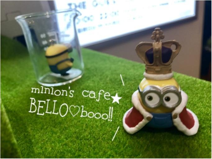 【FOOD】夏休みのおでかけに!怪盗グルーのミニオン大脱走 #ミニオンカフェ に行ってきました★_8