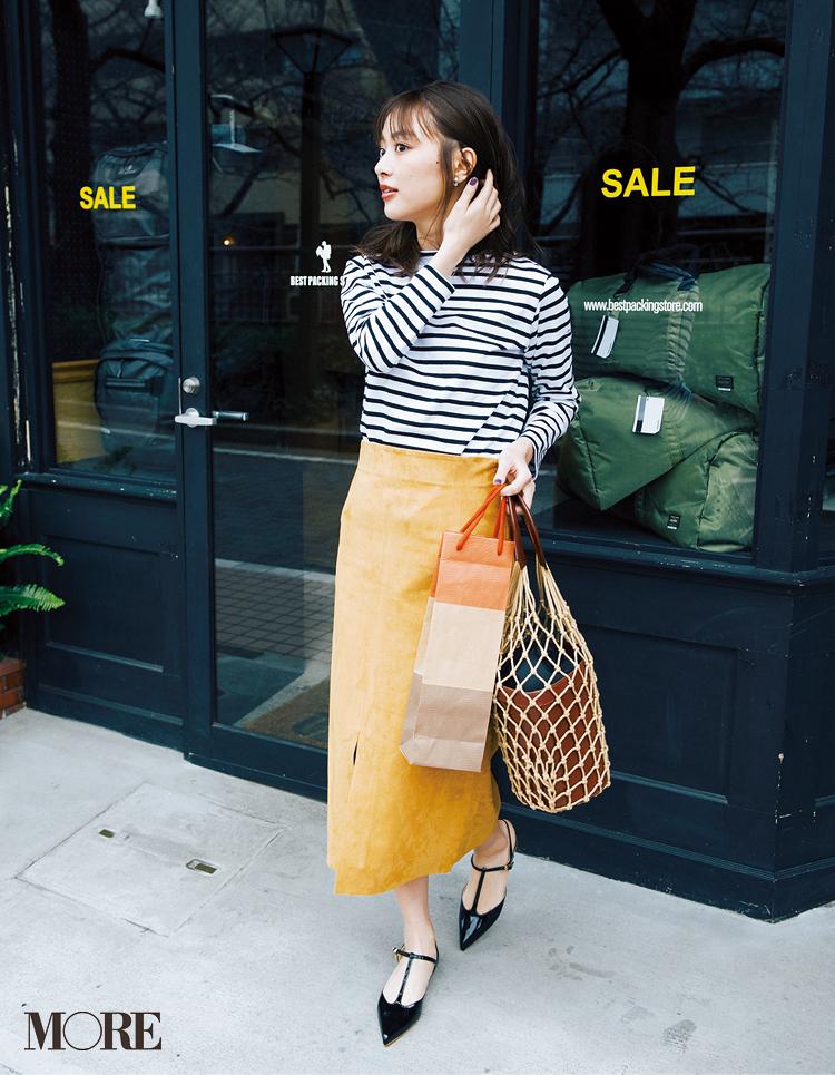 ベージュコーデ特集(20代後半女子向け)- 春におすすめのワンピースやスカート、靴などのコーディネートまとめ_22