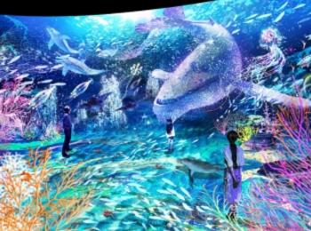 横浜デートや観光に♪ 体験型デジタルアート展「OCEAN BY NAKED 光の深海展」が日本初開催☆