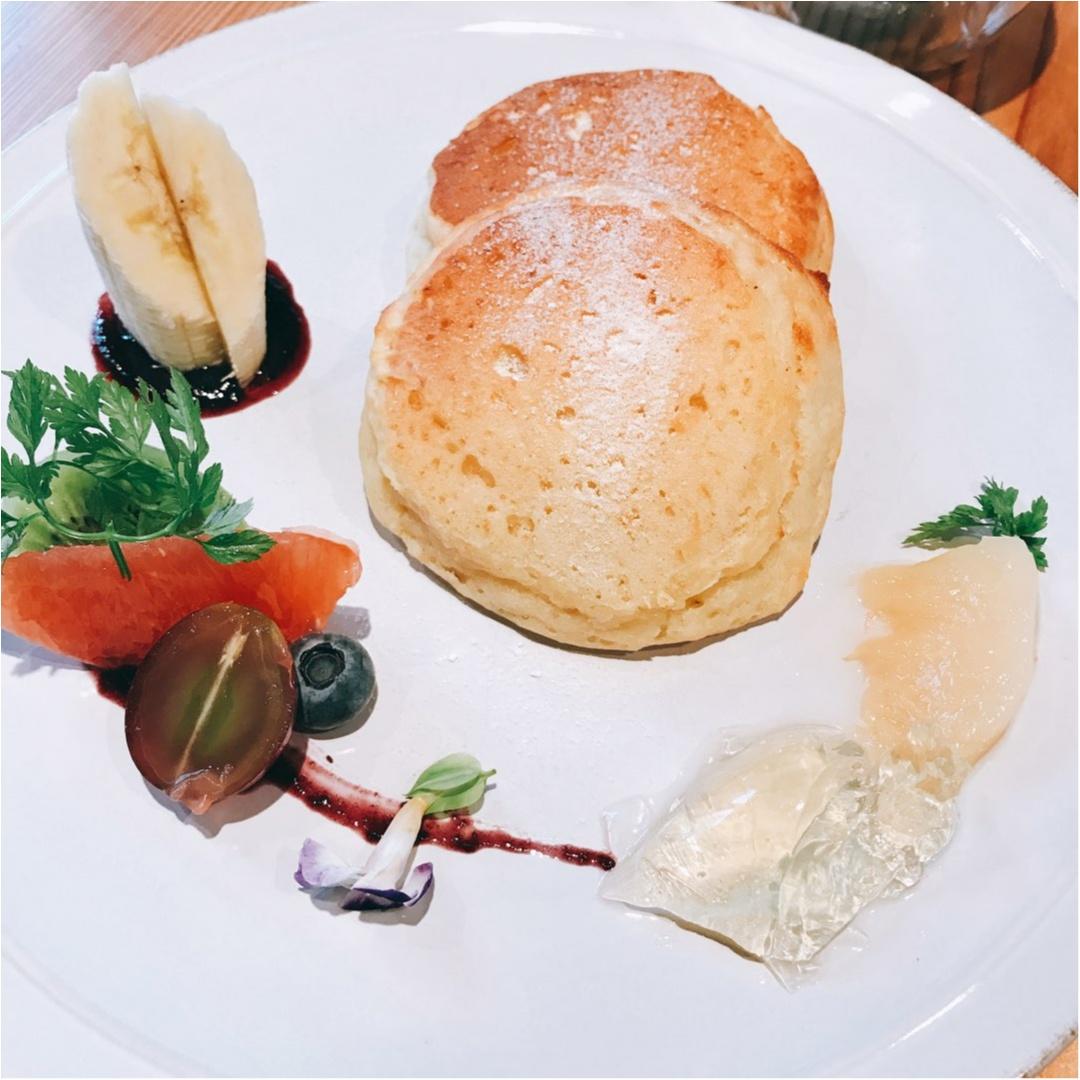 【オーガニックカフェ】罪悪感なく食べられる低カロリーなパンケーキ♡_6