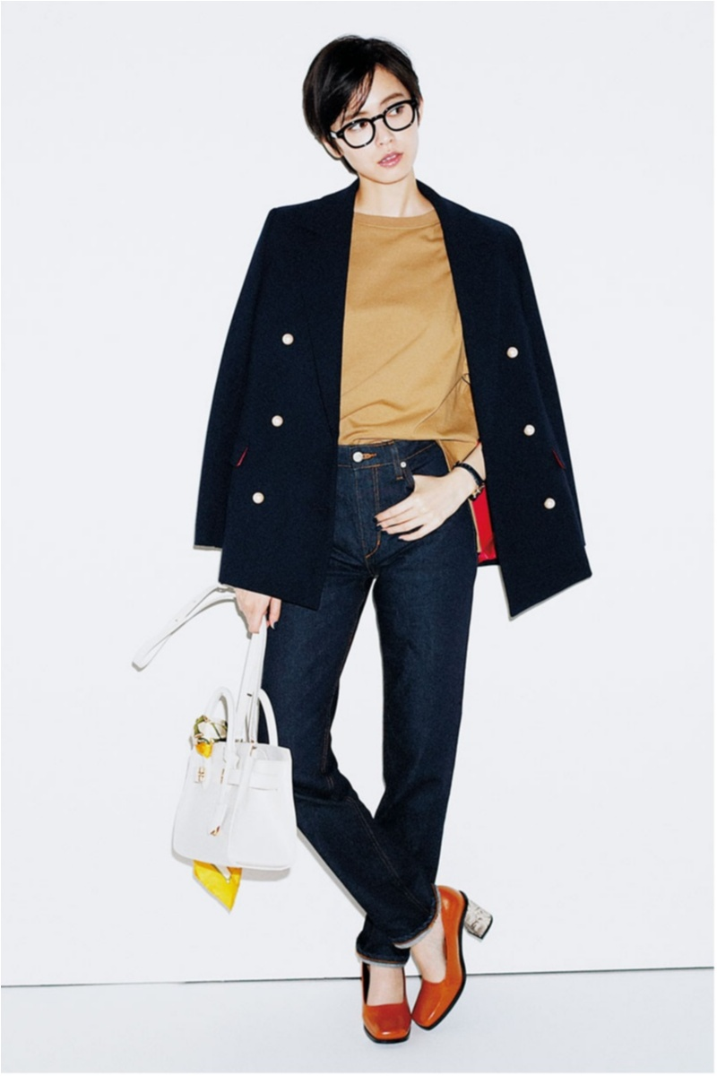 2018年秋のデニムファッションコーディネート9
