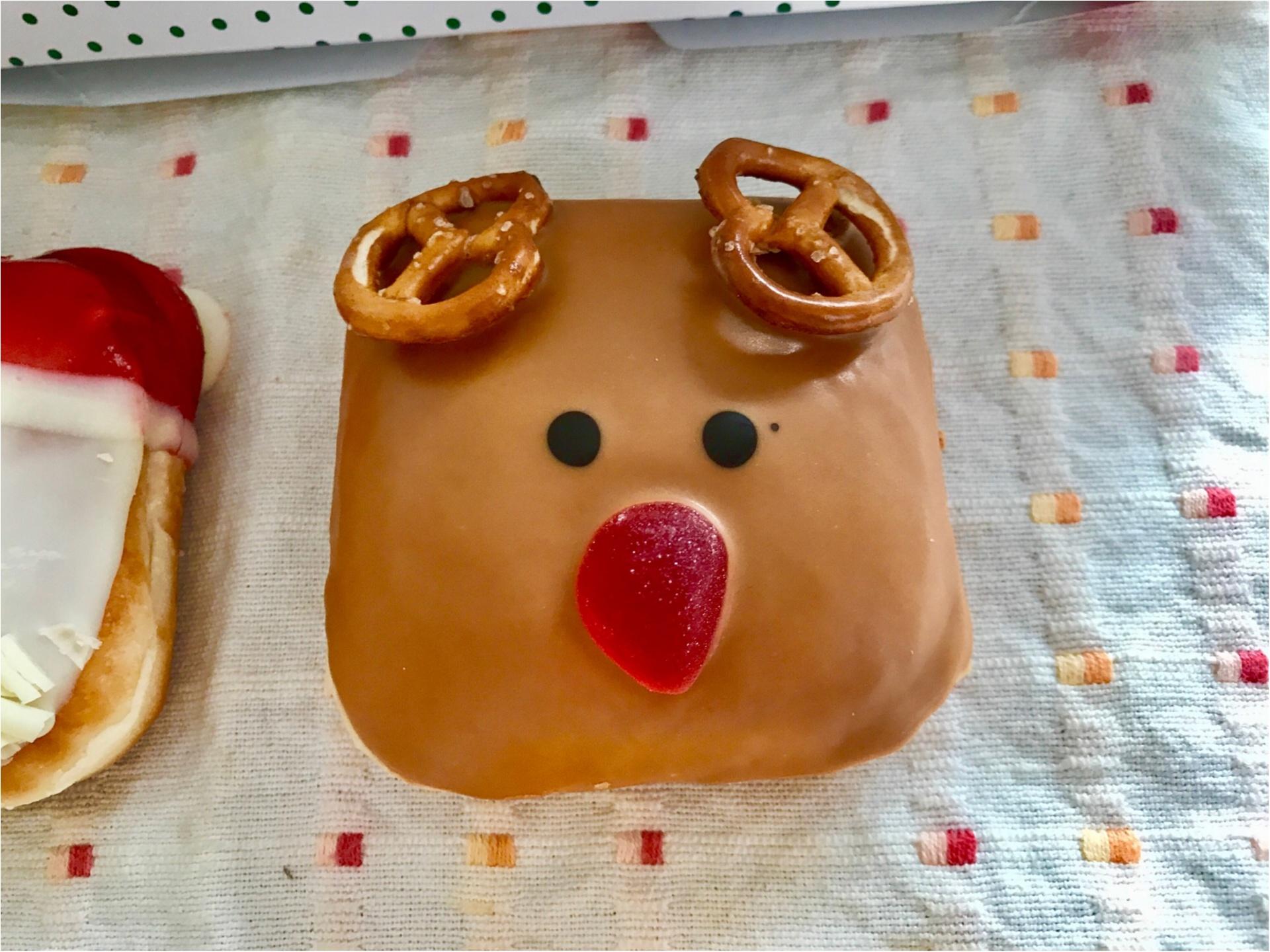 【クリスピークリームドーナツ】クリスマス限定ドーナツが可愛すぎると絶賛の嵐♡_4