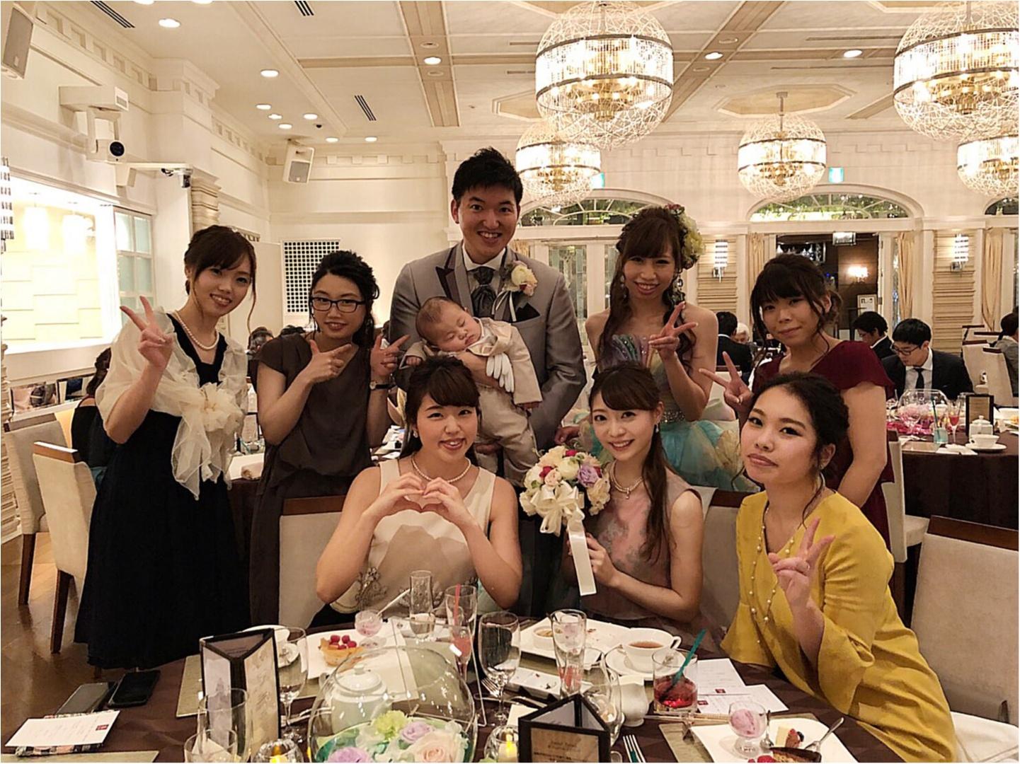 《Happy wedding》around25お呼ばれコーデは華やかにカラードレスにハーフアップで♡式に華を添えましょう!_10