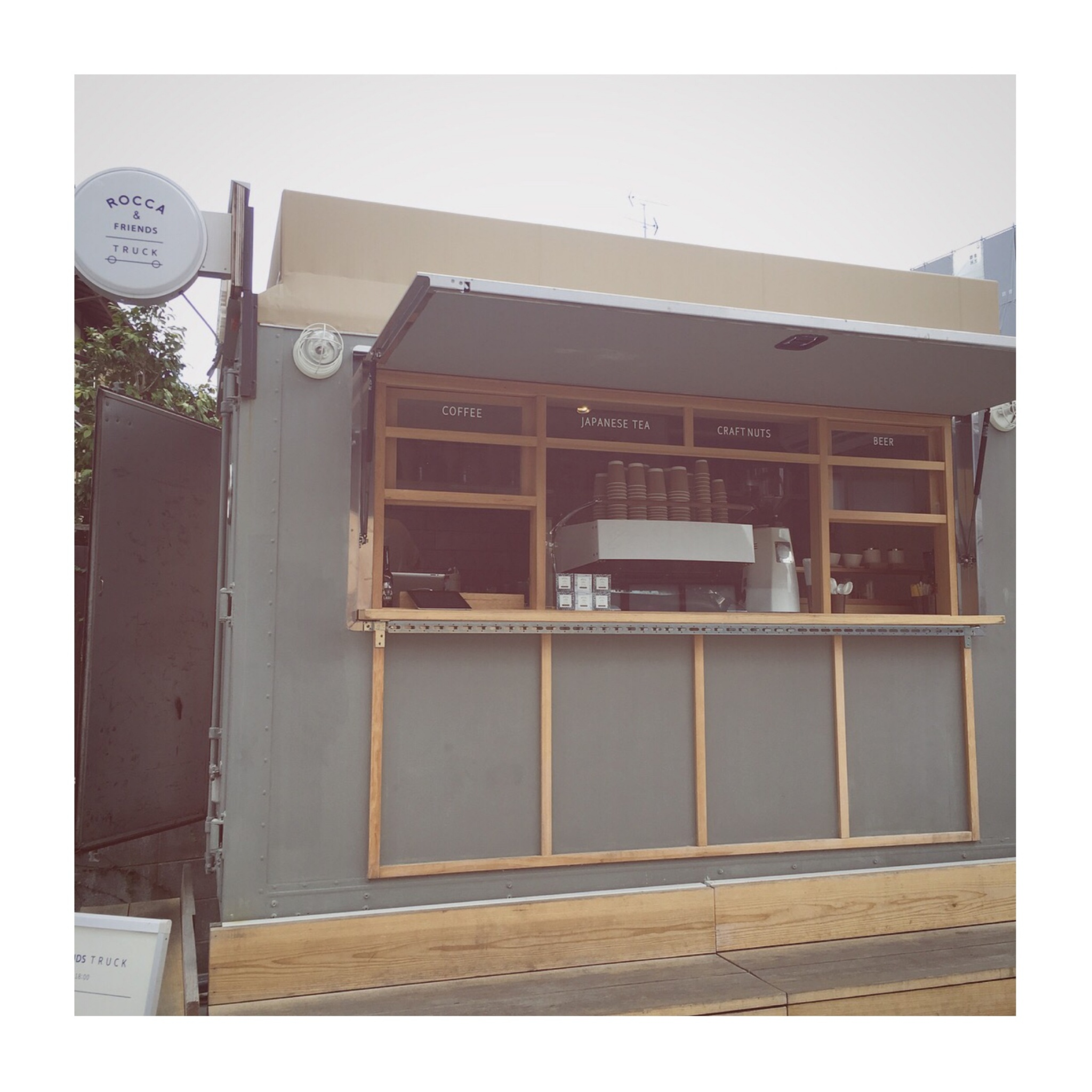 #5【#cafestagram】❤️:《京都》に行ったら絶対飲みたい!ROCCA&FRIENDS TRUCKの抹茶ラテがかわいすぎる◡̈_6