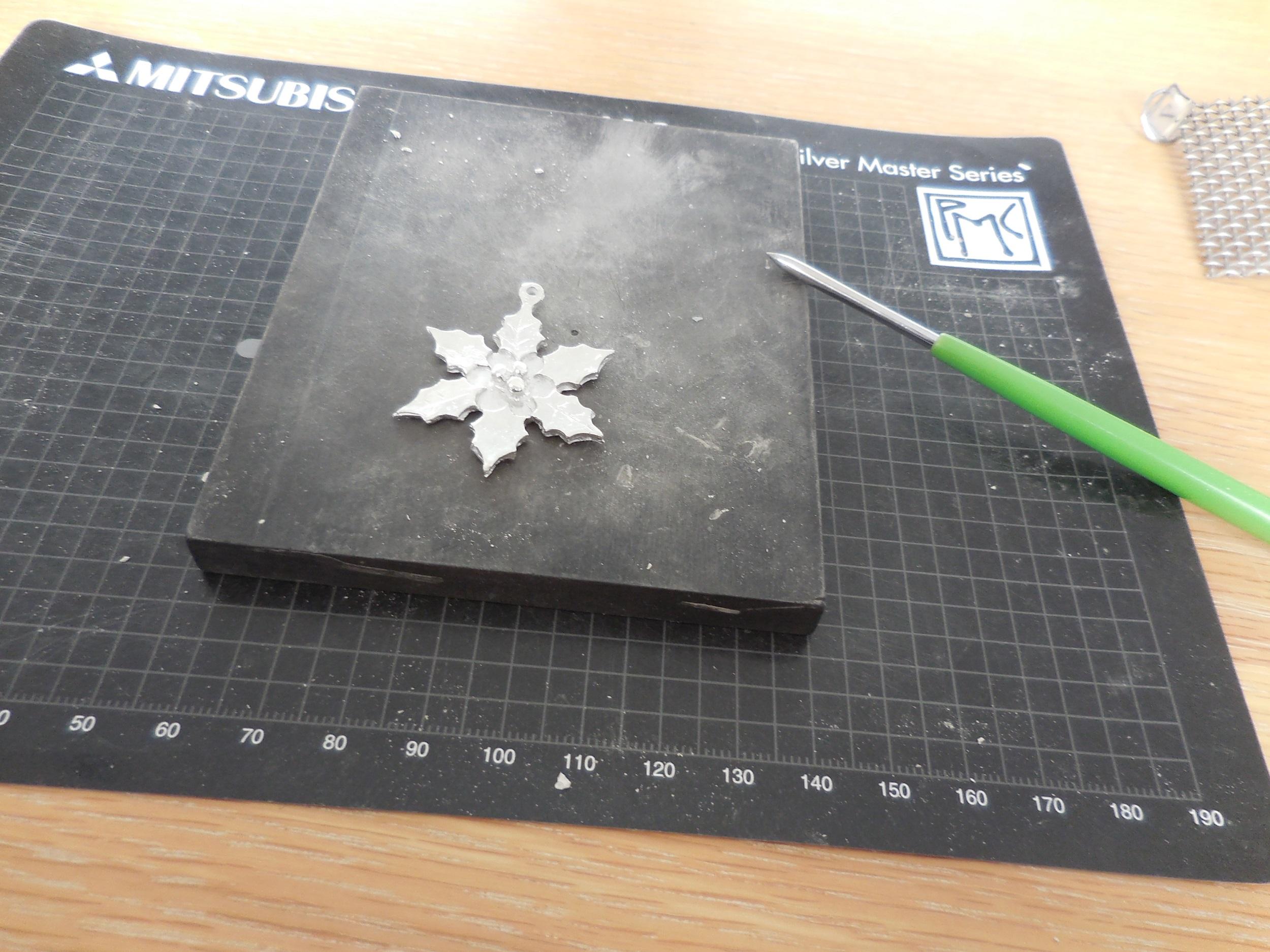 【ケユカ】純銀粘土で作るペンダントのワークショップに行ってきました。_3