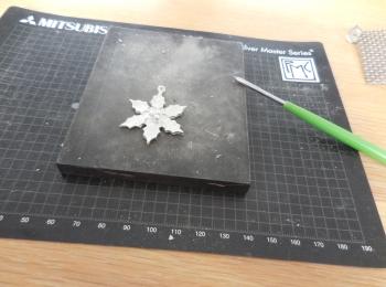 【ケユカ】純銀粘土で作るペンダントのワークショップに行ってきました。