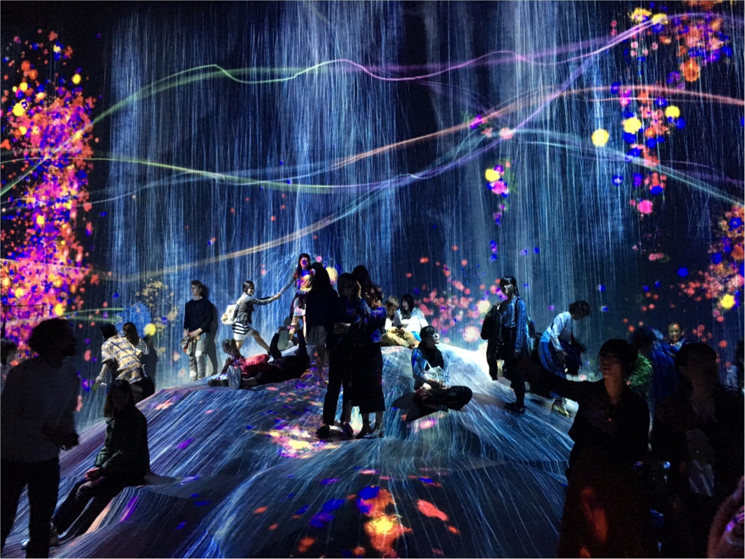 【チームラボ】お台場で開催中『ボーダレス』ランプの森が幻想的すぎる!_2