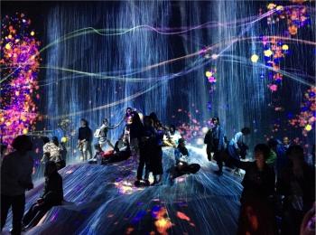 【チームラボ】お台場で開催中『ボーダレス』ランプの森が幻想的すぎる!