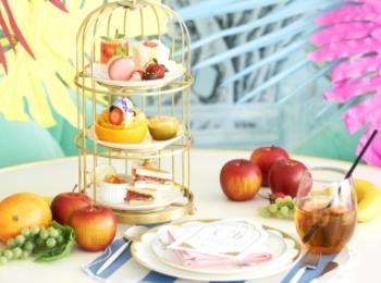 絶品フルーツサンドをアフヌーンティーセットで♡ 『Chesty』のティールームと「北新地mint」がコラボ!