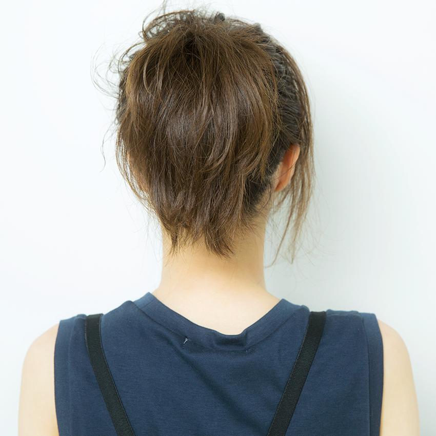 次くるヘアアレンジ5つのHOT TIPS♡『NOT定番! 技ありポニーが◎』_3