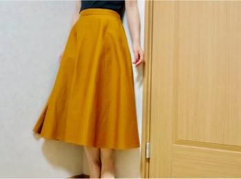 【8/16までお買得♡】ユニクロの《サーキュラースカート》を買うべき理由!