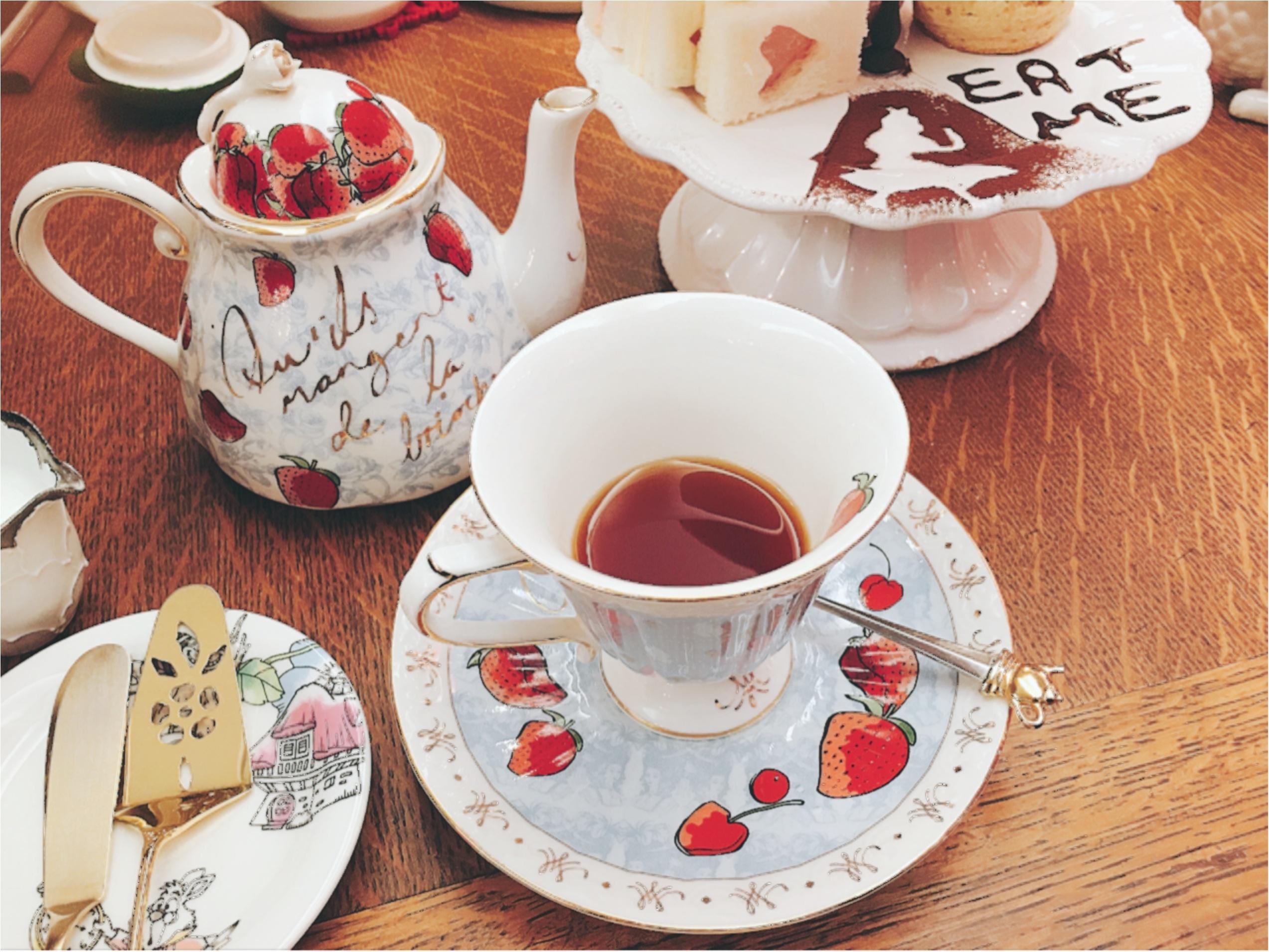 おとぎの国に来たみたい♡とってもかわいいカフェでティータイム!♡_6
