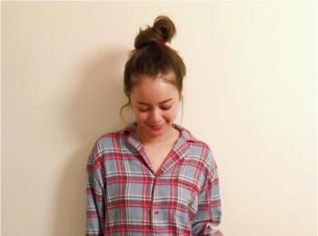 【お気に入りの部屋着を見せて!】岸本セシルちゃんは、ボーイッシュなパジャマ☆