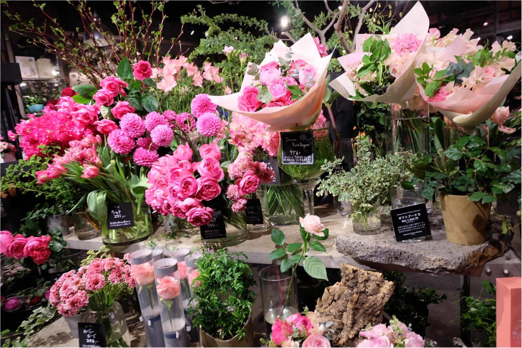 【ご当地MORE♡東京】AOYAMA FLOWER MARKET TEA HOUSEでお花に囲まれて女子会ができちゃう贅沢スポット♡_7