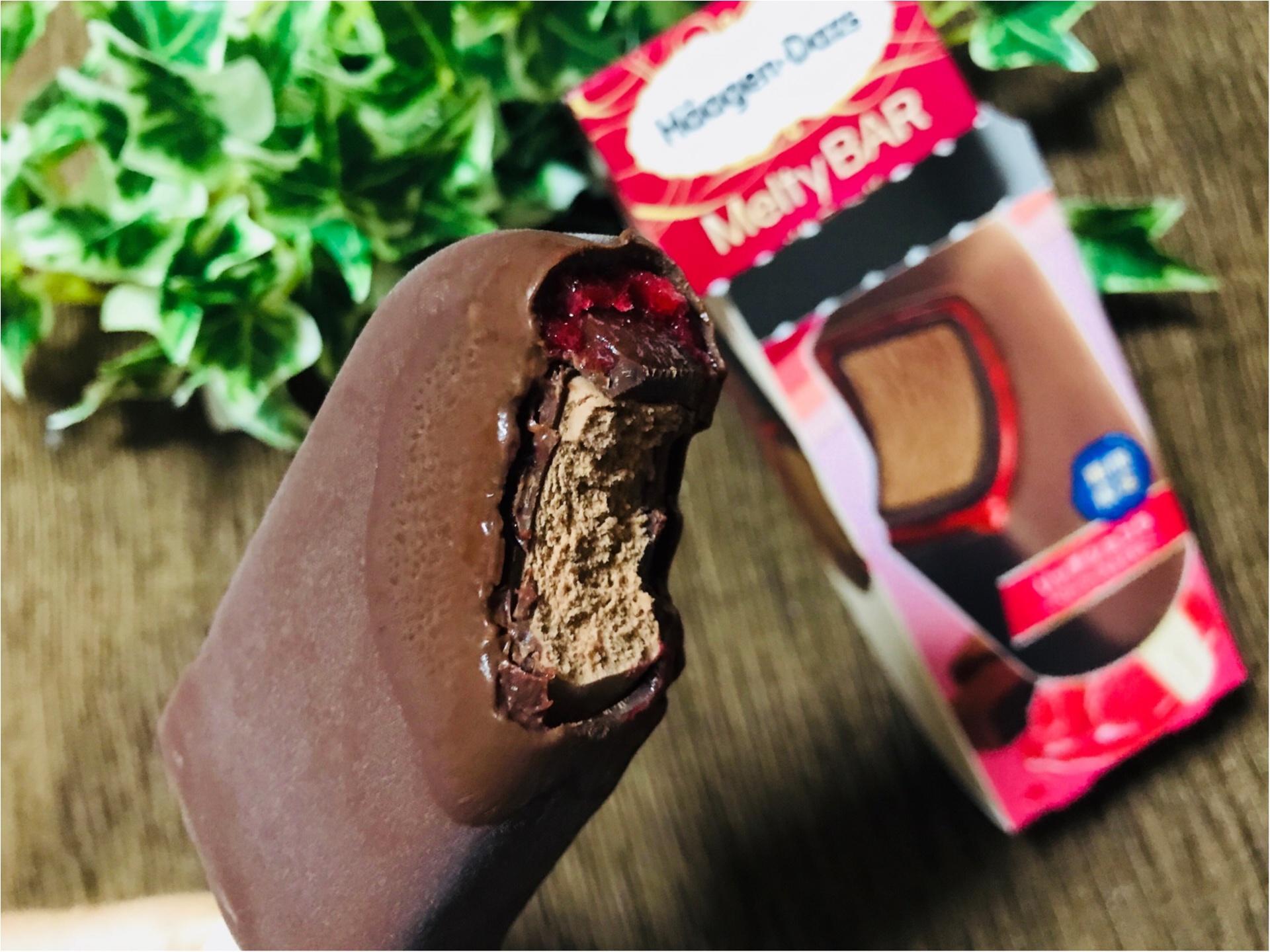 【ハーゲンダッツ】ラズベリーソースがとろ〜り《リッチショコラ》が美味しすぎる♡_4