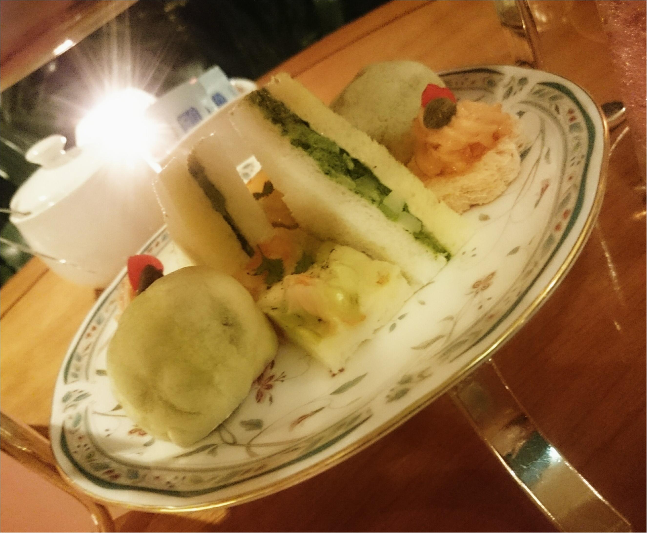 今日からはじまった「ホテル椿山荘東京」の桜イブニングキュートティーへ行ってきました♥_20