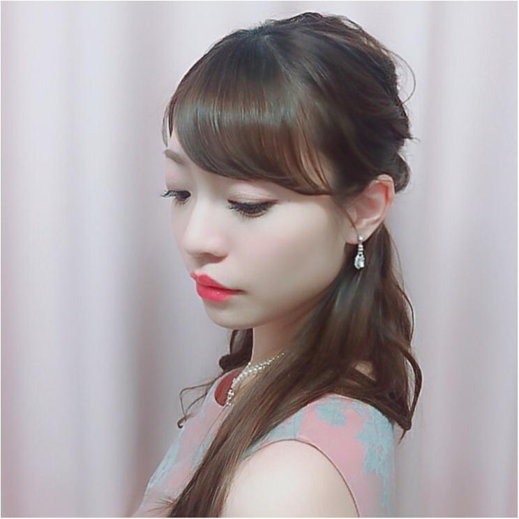 《Happy wedding》around25お呼ばれコーデは華やかにカラードレスにハーフアップで♡式に華を添えましょう!_16