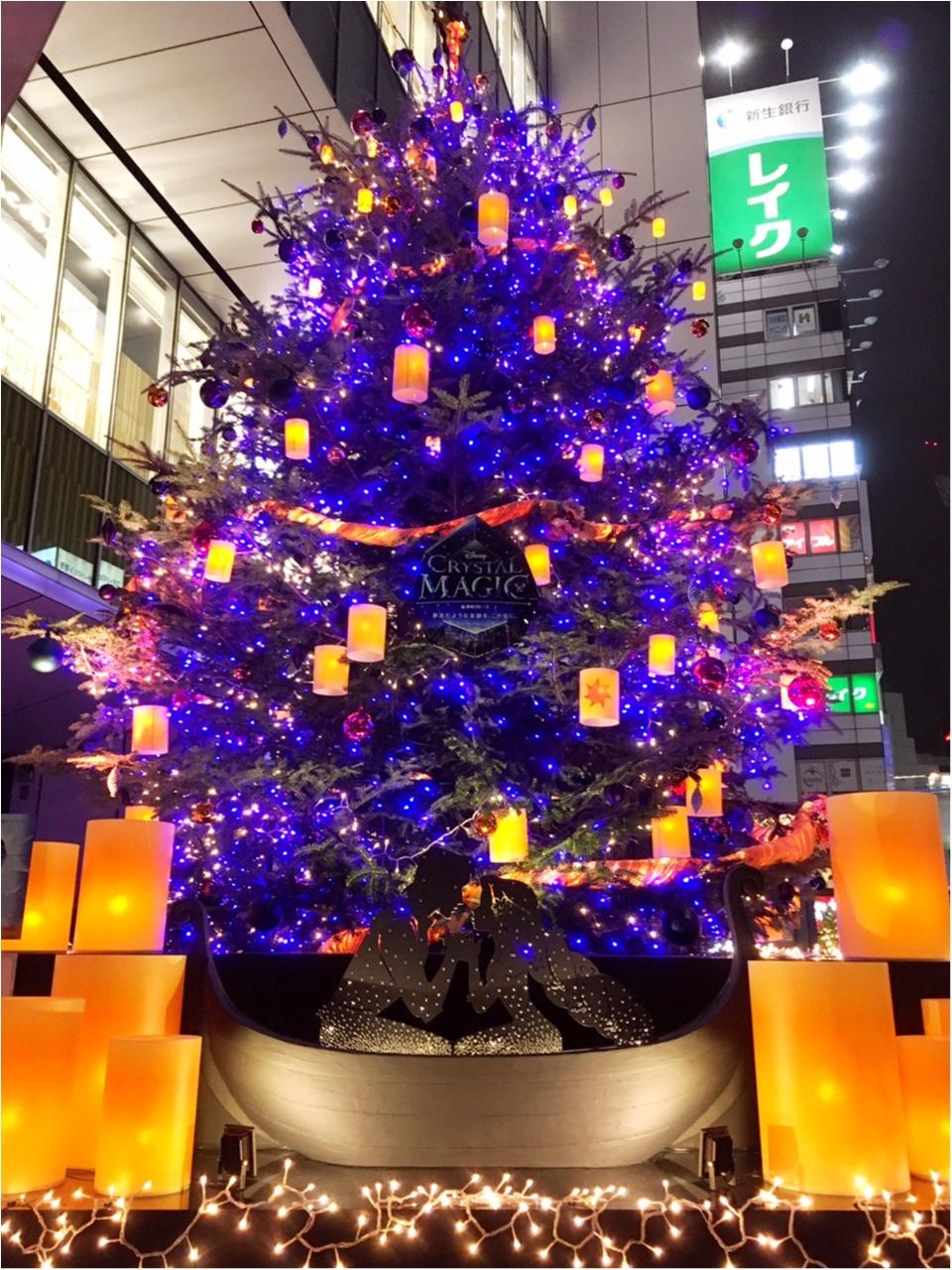 『渋谷ヒカリエ』のクリスマスはディズニープリンセスたちとコラボ♡『ラプンツェル・ツリー』点灯式に行ってきました(﹡´◡`﹡ )♡_1