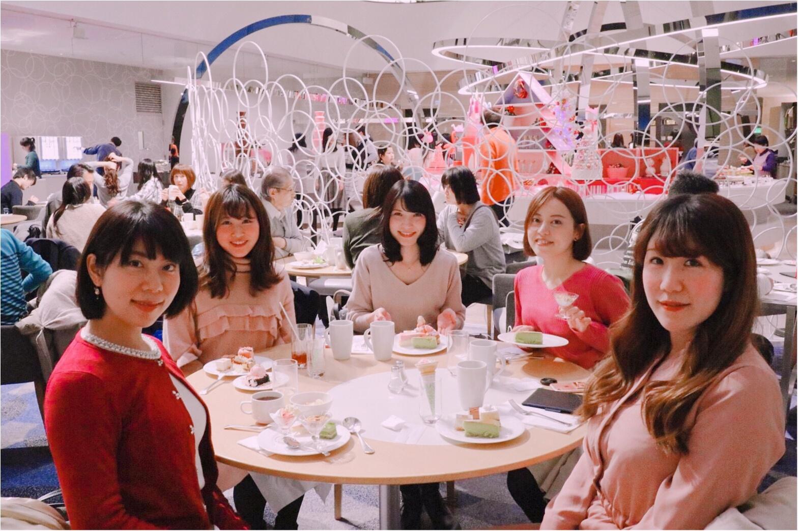 ヒルトン東京ベイ【ピンク・クリスマス】ビュッフェがかわいすぎる!_4
