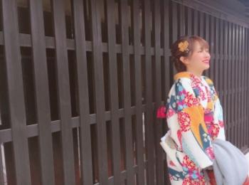 【名古屋】《レンタル着物で》犬山城下町ぶらり旅