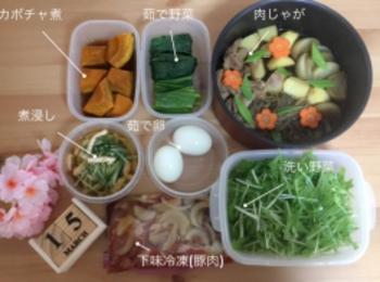 《週末》簡単作り置き(煮物)と下味冷凍!