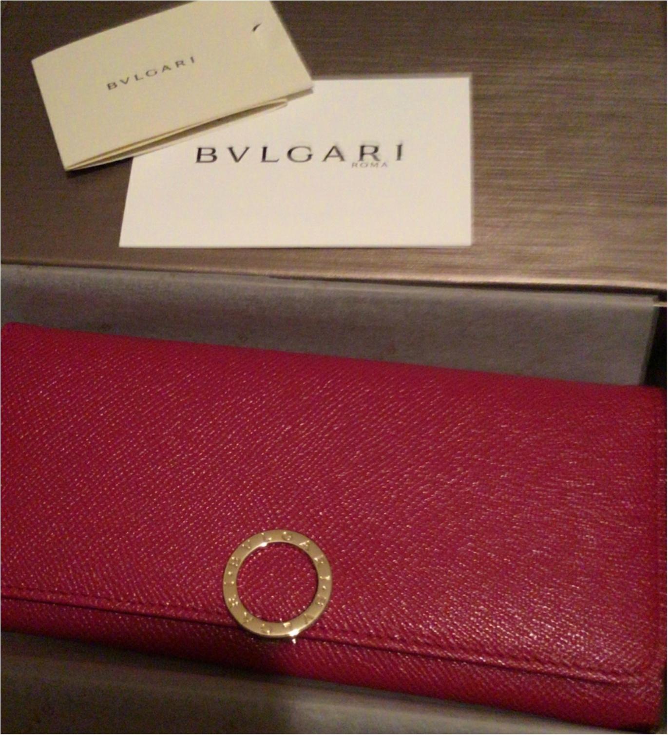 brand new ccb8c 68d99 2018年》心機一転♡「BVLGARI」のお財布に | モアハピ部ブログ ...