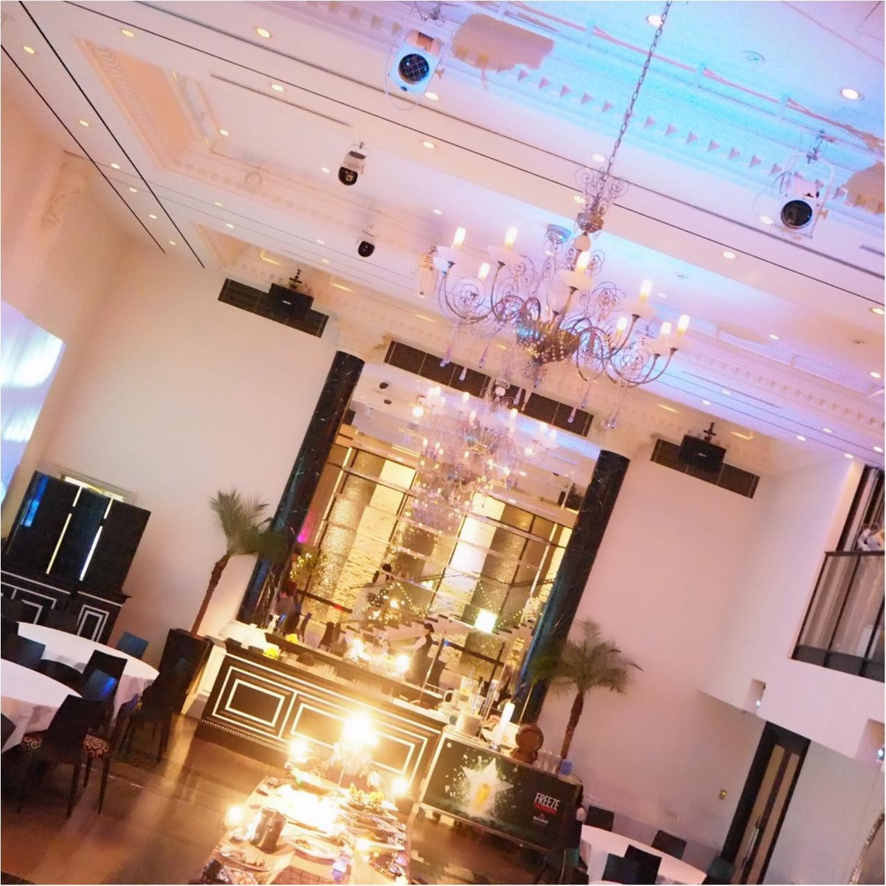 【結婚式場でビアイベント】会場の光に包まれながら楽しくごはん♡_2