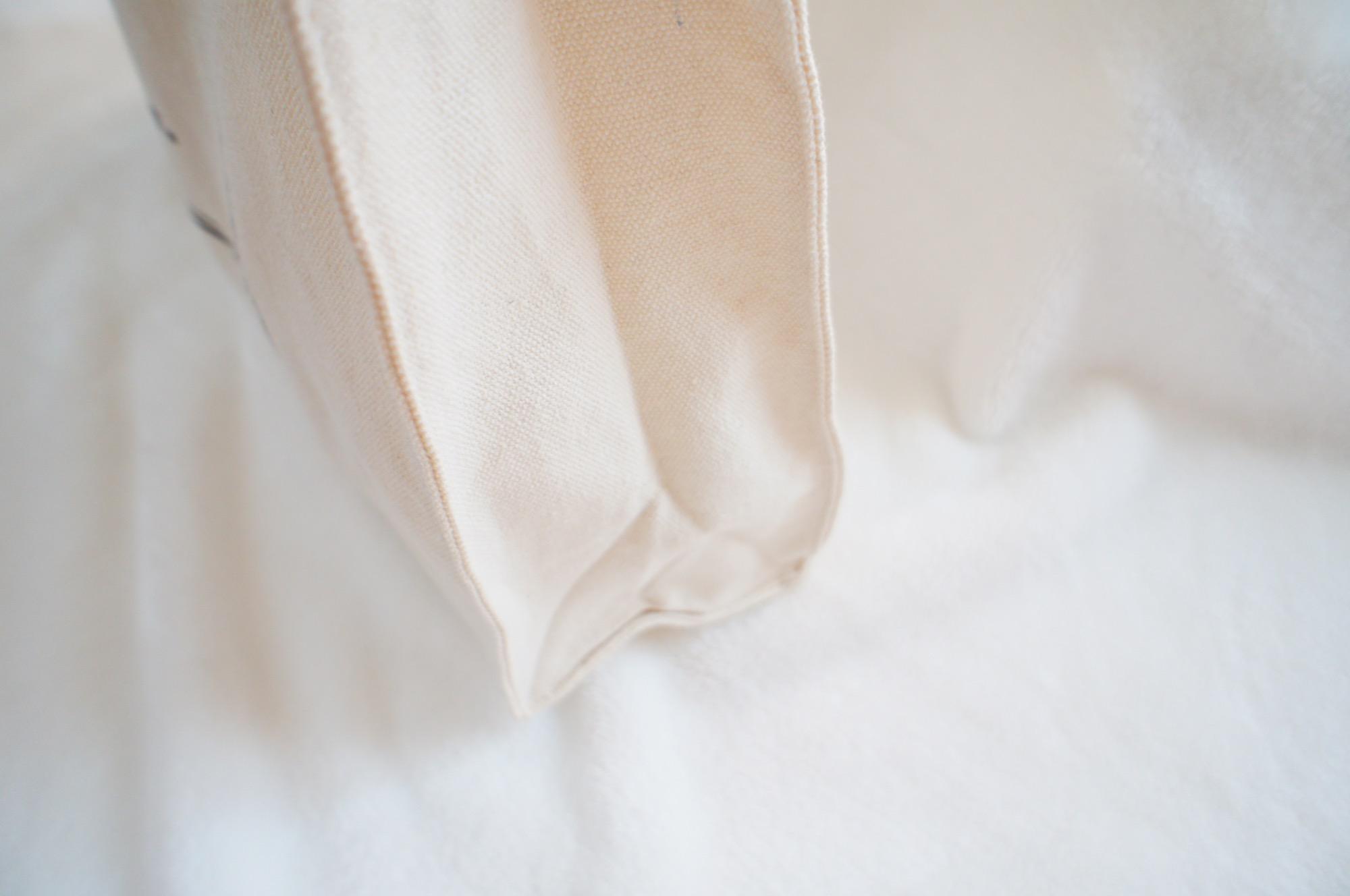《シンプルなのに可愛い❤️》【3COINS】の白トートバッグが使える☻_2