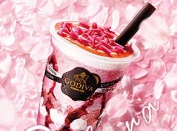 『ゴディバ』の桜♡ 「ショコリキサー ホワイトチョコレート さくらLala♪」を飲まなくっちゃ!【桜 2019 #3】