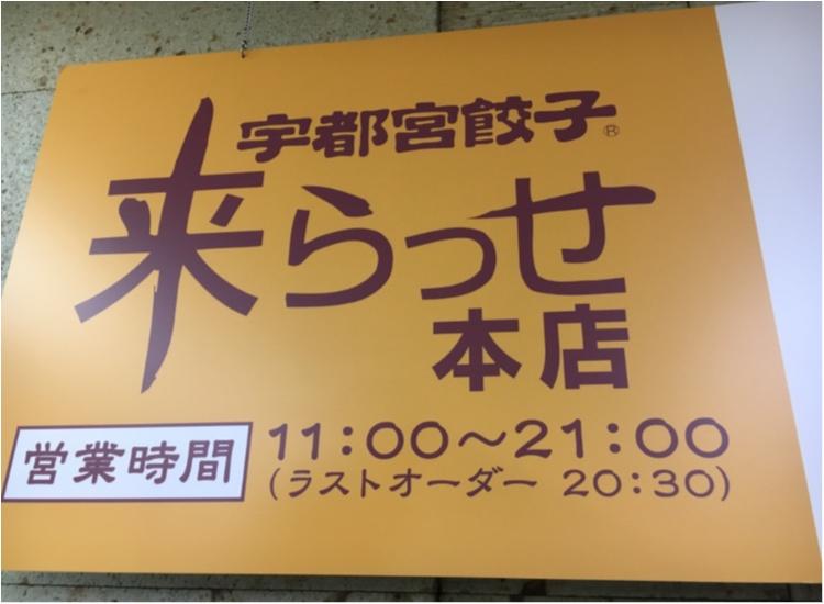 【ご当地モア♡関東】宇都宮で餃子三昧!暑さに負けない餃子とビールの最強コンボ♡♡_1