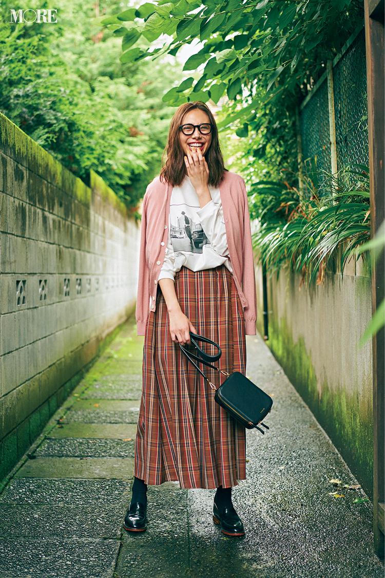 秋コーデ特集《2019年版》- トレンドのブラウンや人気のワンピース・スカートでつくる、20代におすすめのレディースコーデ_5