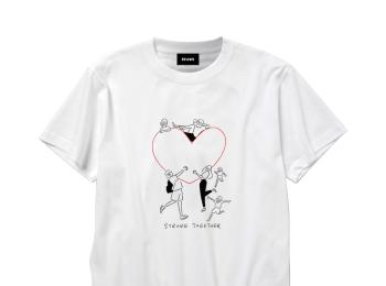 可愛いTシャツを買うことで被災地支援に。『ビームス』がチャリティーTシャツを発売