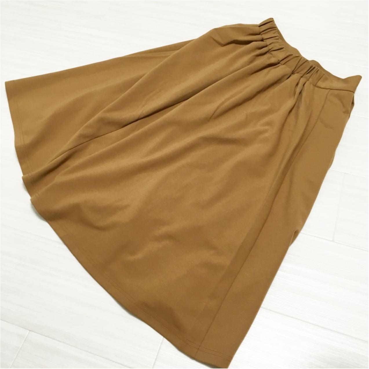 秋はブラウンが主役 ♡ GUスカートでプチプラ秋コーデ♪_3