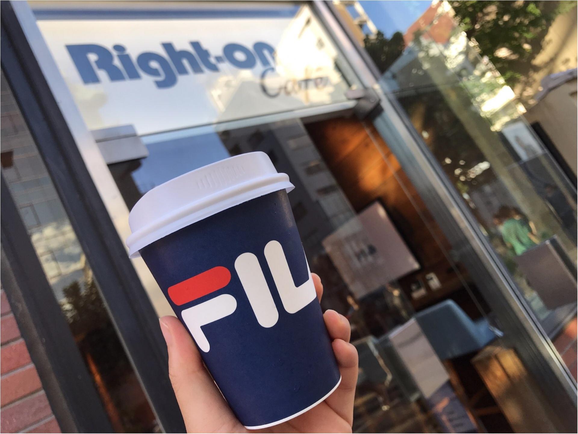 【FILA(フィラ)】がRight-onをジャック!?POP-UPSHOP&CAFEがオープン★_4