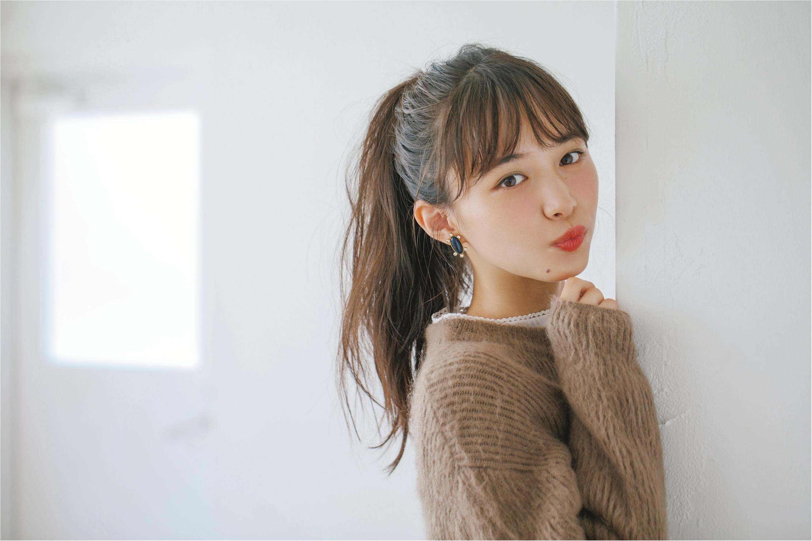 """鉄板モテヘアを今年Verに♡ """"ミルク""""でつくる、最旬やわつやポニーテール!_2"""