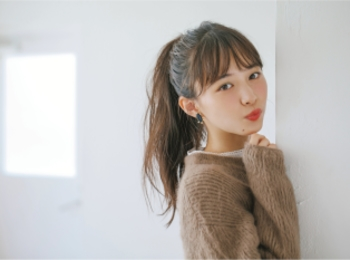 """鉄板モテヘアを今年Verに♡ """"ミルク""""でつくる、最旬やわつやポニーテール!"""