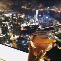 【TRIP】#世界一高いところにあるBAR リッツ・カールトン香港「OZONE」♡