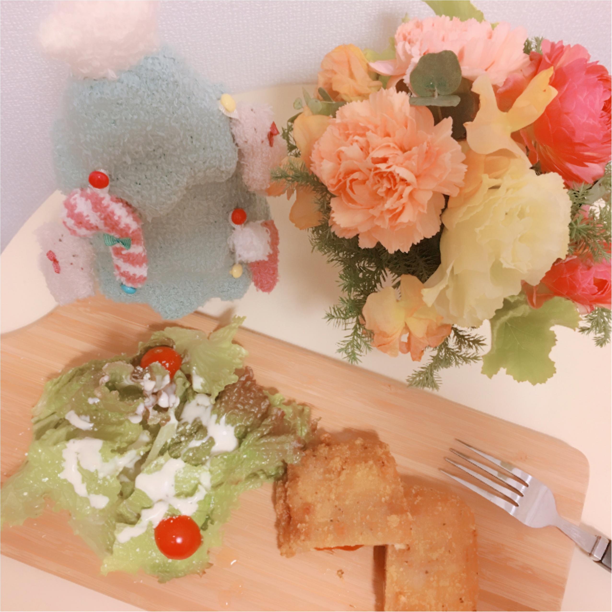 【ローソン】Lチキ ピザ味でクリスマス気分_1
