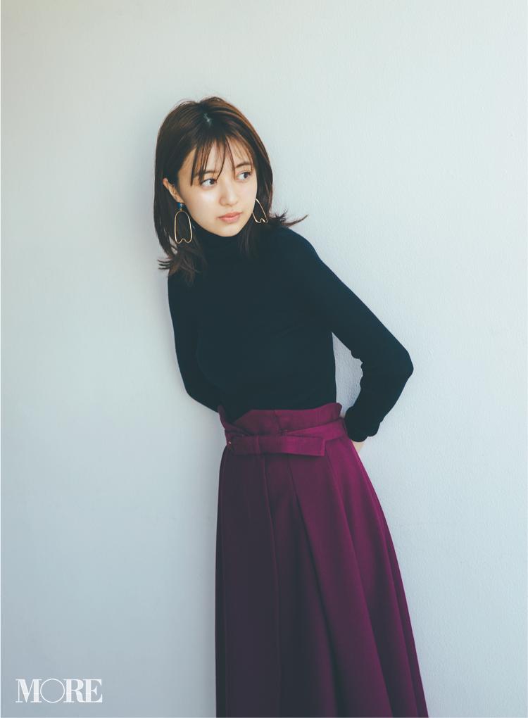 2018年秋のファッション ニット48