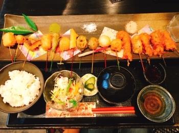 【京都おすすめグルメ】見た目も味もはなまる!!可愛い京都の串屋さん♪