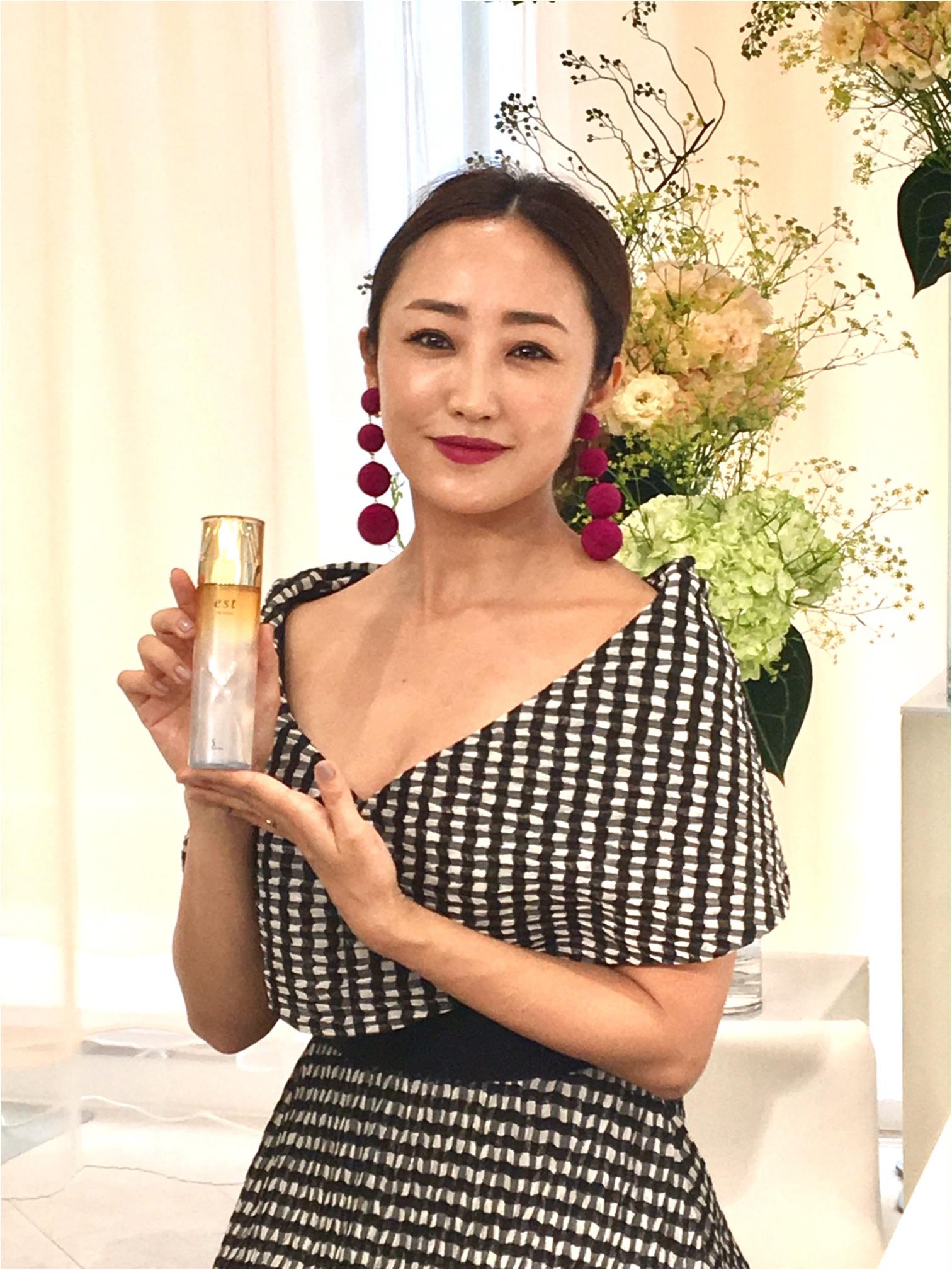 美容家・神崎恵さんも推薦♡ 『エスト』の新しい化粧水がすごいらしい……!!!_2