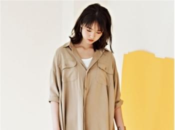 きちんと見えのマストアイテム【シャツワンピ】コーデ10選|ファッション