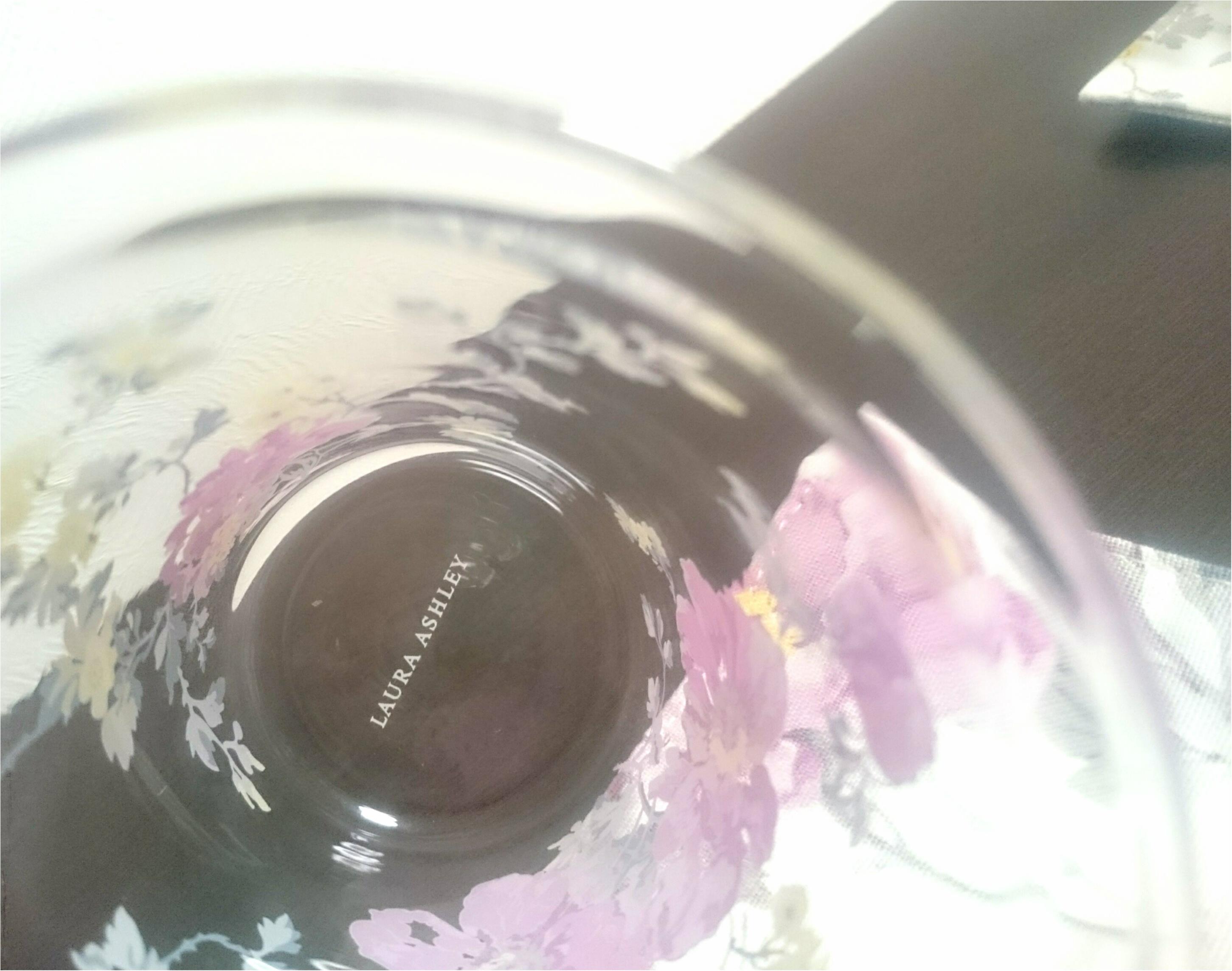 【ローラアシュレイ】ピオニー/アメジスト 食器を新調_10