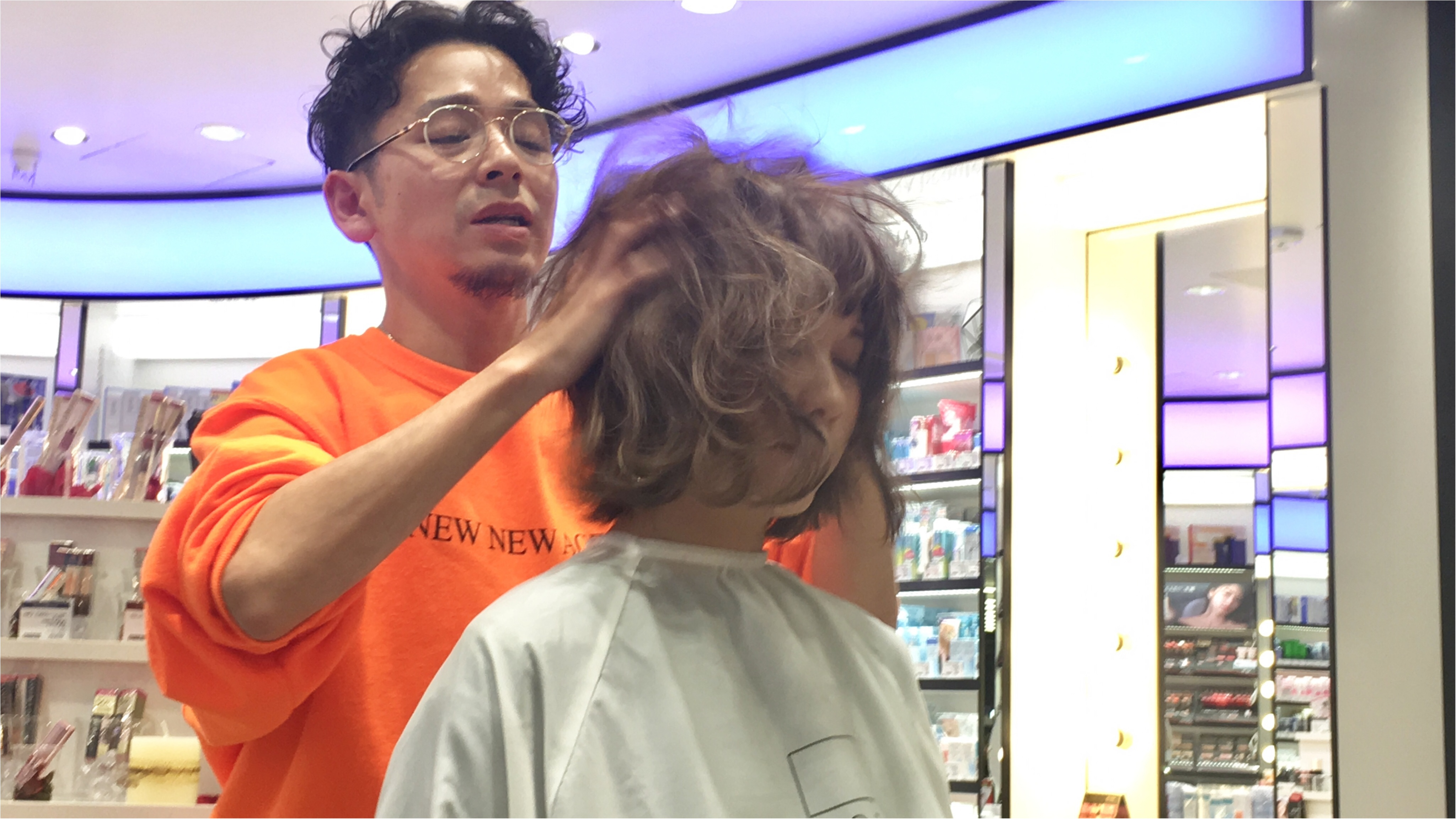 【銀座BeautyU】ヘアスタイリングセミナーでマンネリ解消!?_5