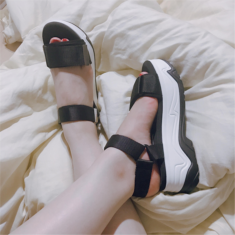 【ZARA】買ってよかった高コスパ靴!売切れ必須#ヴェッジソールサンダルが優秀すぎ♡_4