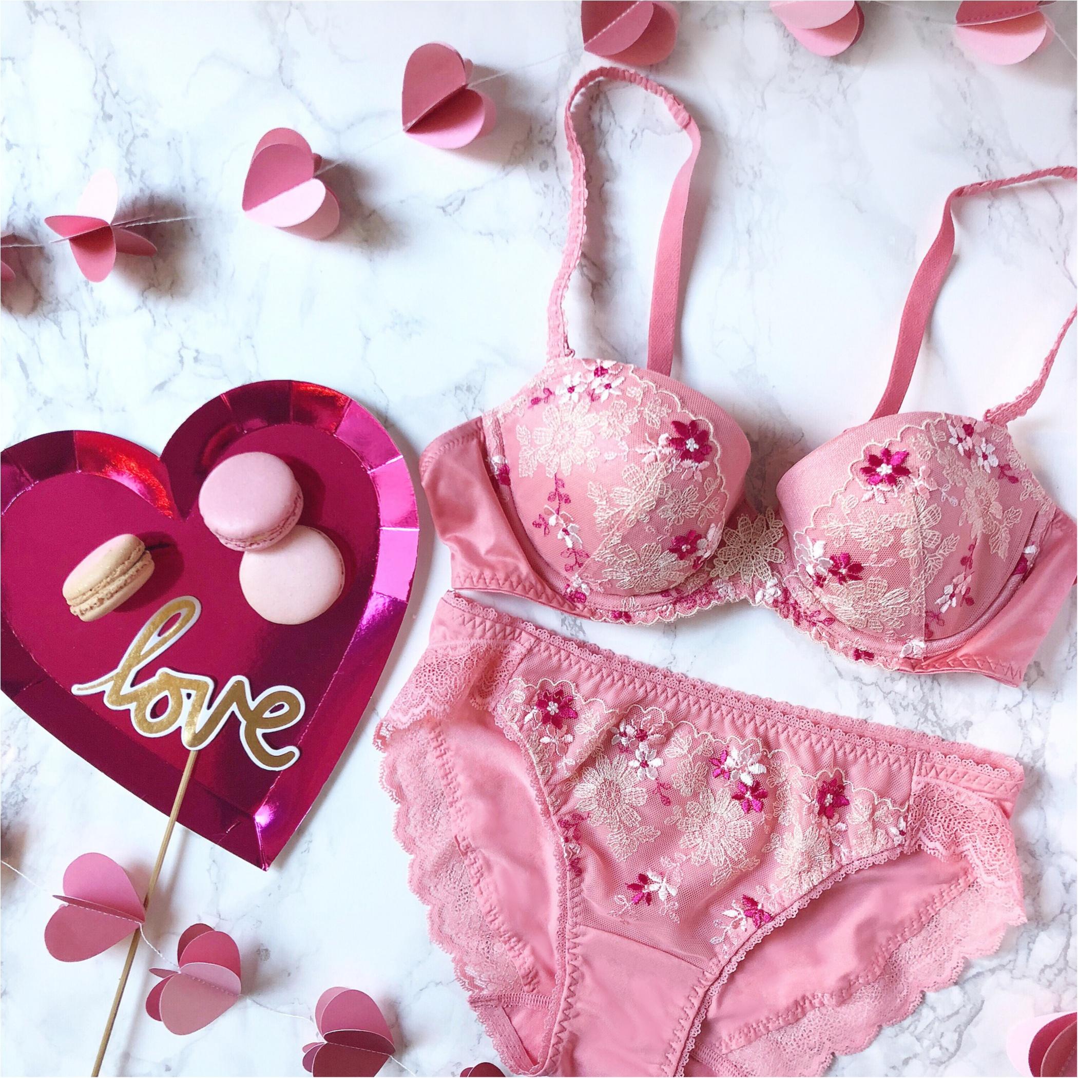 バレンタインは、人気No.1の「夢みるブラ®Premium」でスウィートな気分をさらに盛り上げて♡_1_1