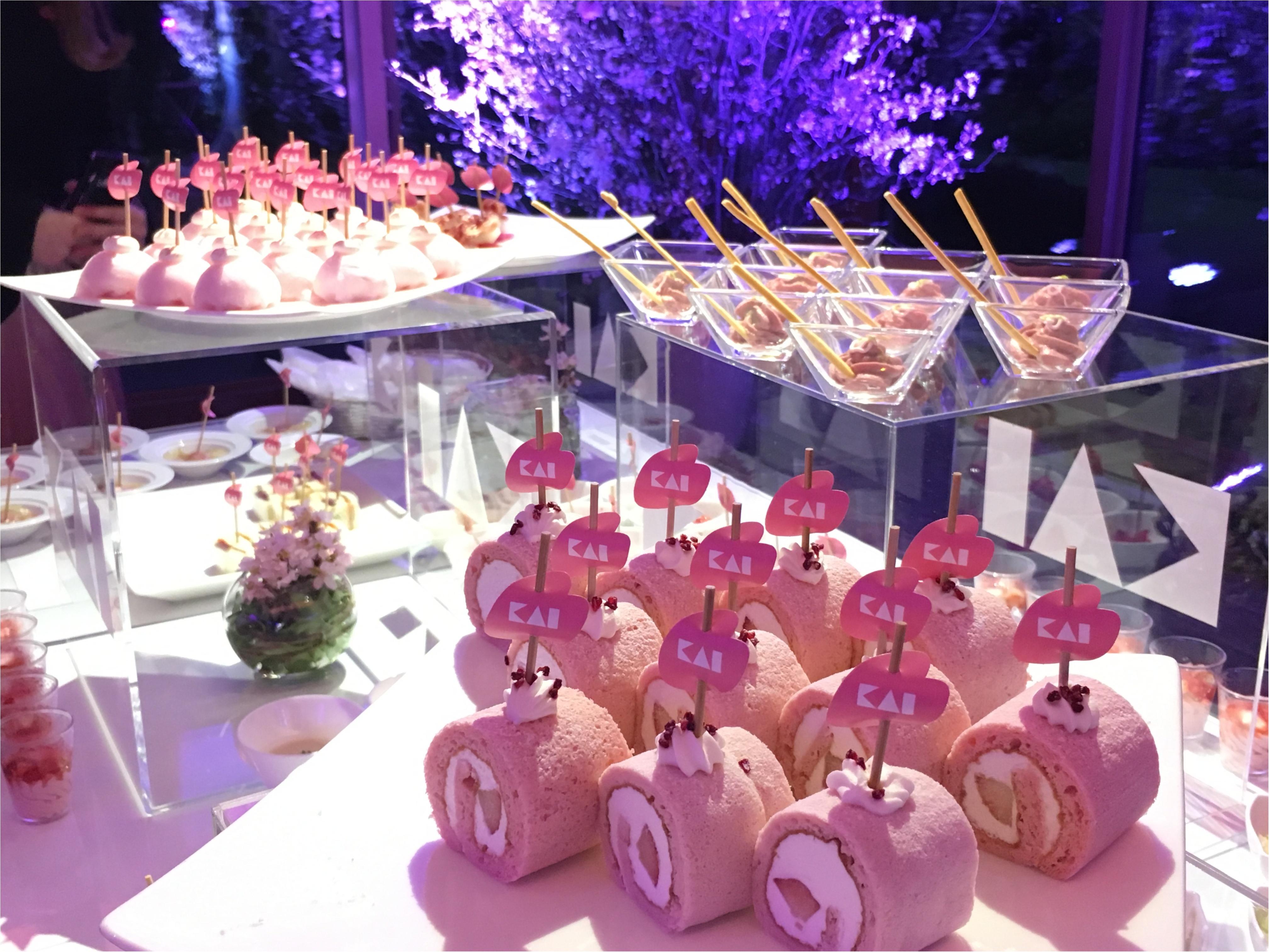 『貝印』シークレットイベント「KAI BEAUTY PARTY」にライターゆうりが潜入! そこは桜舞うスペシャルな空間♡_3