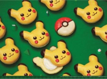 ミスドのクリスマスは『ポケモン』と一緒♡ 「ピカチュウ ドーナツ」が、可愛すぎて食べられない!