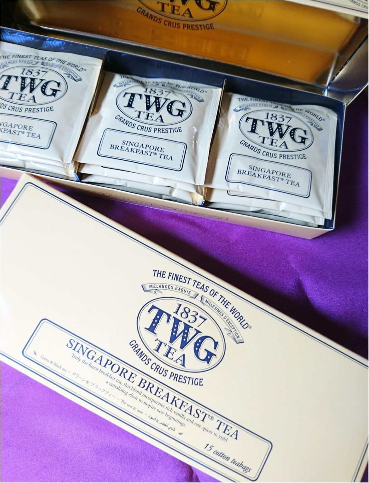 ≪海外旅行/シンガポール/お土産編≫ばらまき&自分用に。TWGの香り高い紅茶がおススメ!_5