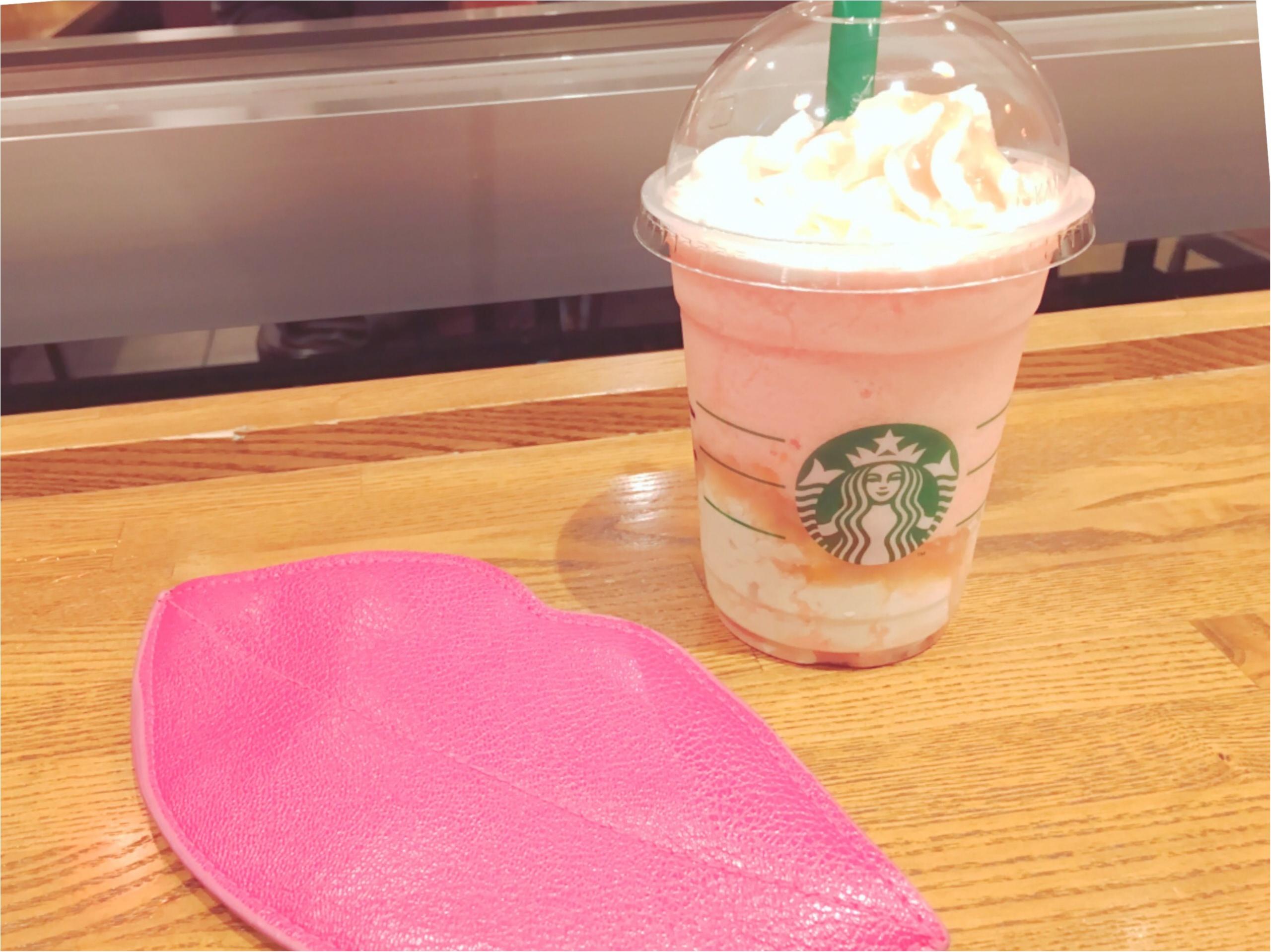 ピンクがおいしい&かわいい♡スタバの新作フラペチーノ♡_4